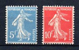 France Frankreich Y&T 241* & 242* (du Bloc 2) - Ungebraucht