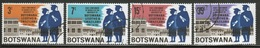 Botswana 1967 Set Of Stamps To Celebrate The First Conferment Of University Degrees. - Botswana (1966-...)