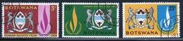 Botswana 1968 Set Of Stamps To Celebrate Human Rights Year. - Botswana (1966-...)