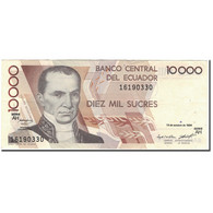 Billet, Équateur, 10,000 Sucres, 1994-10-13, KM:127a, SUP - Equateur
