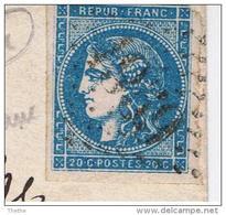 45C  -  Losange GC 1959 - LAON Pour LILLE - Belle Variété : Trait Blanc - 1849-1876: Période Classique