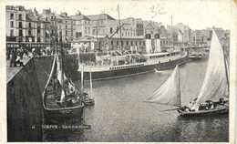 DIEPPE  Gare Maritime Bateaux RV - Dieppe