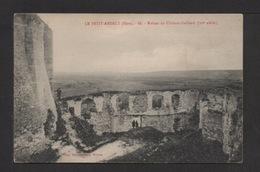 CPA . Dépt.27. LE PETIT-ANDELYS . Ruines Du Chaâteau-Gaillard . - Les Andelys