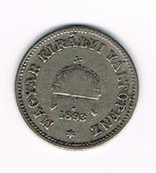 =&  HONGARIJE  10  FILLER  1893 KB - Hongrie