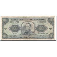 Billet, Équateur, 100 Sucres, 1994-02-21, KM:123Ac, TB - Equateur
