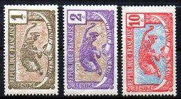 Col10 / Congo : N° 48 49 53  Neuf X MH , Cote : 2,50 € - French Congo (1891-1960)