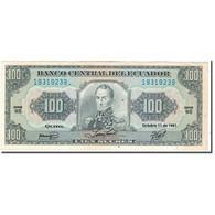 Billet, Équateur, 100 Sucres, 1991-10-11, KM:123Aa, SUP - Equateur