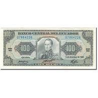 Billet, Équateur, 100 Sucres, 1992-12-04, KM:123Ab, SPL - Equateur