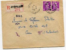 SEINE Et OISE  De FREPILLON     Env. Recom. De 1948  Avec Dateur A 6 - Marcophilie (Lettres)