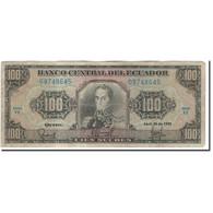 Billet, Équateur, 100 Sucres, 1990-04-20, KM:123, AB+ - Equateur