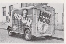 Image Véhicules HZ Et H (2cv) 850 Et 1200kg CITROEN, Annonce Publicitaire, MIROR, Lion Noir, Cirage, TUBE ? - Vieux Papiers