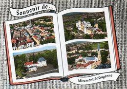 CPSM Dentelée - MIRAMONT-de-GUYENNE (47) - Carte De Multi-vues Aériennes Au Livre Où Album-photos Ouvert De 1964 - France