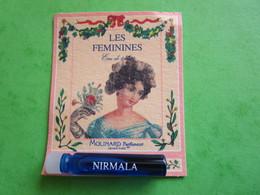 MOLINARD - LES FEMININES - NIRMALA -  (collector  Ne Pas Utiliser) Date Des Années 1990 - Echantillon Tube  Carte - Perfume Samples (testers)