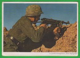 Fante Tedesco Con MP40 Deutscher Infanterist German Infantryman With Machine-gun  Fantassin Allemand - Weltkrieg 1939-45
