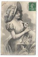 Femme Et Chien - Illustrateur VK VIENNE - 7011 - Vienne