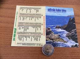 """Calendrier 1977 """"pétrole Hahn (mer) Photo GUIDEZ"""" (10,5x15cm) - Calendars"""