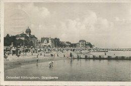 005379  Ostseebad Kühlungsborn - Strandpartie  1950 - Kühlungsborn