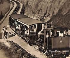 Rigi Kulm (train Top Animation, Edition Photoglob 1929) - LU Lucerne