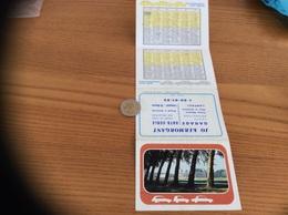 "Calendrier 1977 (4 Volets) ""JO KERMORGANT LAMPAUL (29) / Château De Chantilly"" - Calendars"