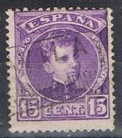 Sello 15 Cts Alfonso XIII, Carteria SAN JUAN De La NAVA (Avila), Num 246 º - 1889-1931 Reino: Alfonso XIII