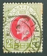 South Africa, Natal 1902, King Edward VII, - Natal (1857-1909)