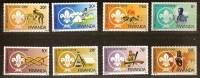 Rwanda Ruanda 1983 OCBn°  1141-48 *** MNH Cote 15 Euro Scoutisme Padvinders - Rwanda