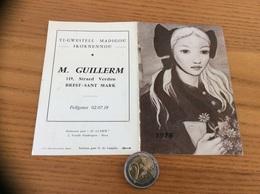 """Calendrier 1976 """"M. GUILLERM BREST (29) / Taolenn Gant X. De Langlais (bretonne)"""" - Calendriers"""
