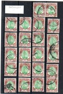 Selangor $5 22 Assorted Stamps Very Fine Used (zk-286) - Selangor