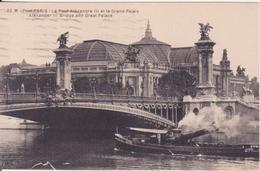 CPA   - 53. PARIS -  Pont Alexandre III Et Le Grand Palais - Brücken