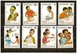 Rwanda Ruanda 1981 OCBn° 1038-45 *** MNH Cote 7,50 Euro - Rwanda