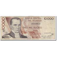Billet, Équateur, 10,000 Sucres, 1994-10-13, KM:127a, B+ - Equateur