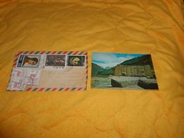 ENVELOPPE + CARTE POSTALE DE 1971. / CUZCO PERU PEROU A CLAMART FRANCE. / CACHETS + TIMBRES X6. - Perù