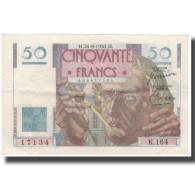 France, 50 Francs, 50 F 1946-1951 ''Le Verrier'', 1950-08-24, SUP - 1871-1952 Antiguos Francos Circulantes En El XX Siglo