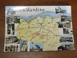 Multivue Et Carte ALGERIE /  CONSTANTINE - Constantine