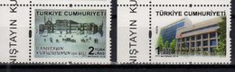TURKEY, 2018, MNH, COUNCIL OF STATE, ARCHITECTURE, 2v - Stamps
