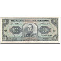 Billet, Équateur, 100 Sucres, 1994-02-21, KM:123Ac, TTB - Equateur