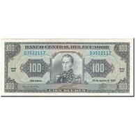Billet, Équateur, 100 Sucres, 1993-08-20, KM:123Ab, SPL+ - Equateur