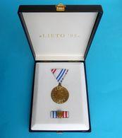 CROATIA ARMY - WAR OPERATION '' SUMMER 95 '' ( Operacija Ljeto 1995 ) - Medal In Original Box * Kroatien Croatie Croazia - Medals