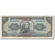 Billet, Équateur, 100 Sucres, 1980-05-24, KM:112a, TB+ - Equateur