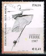Italien 2002, Michel# 2864 O     Italian Design: Gianfranco Ferrè - 6. 1946-.. Republik