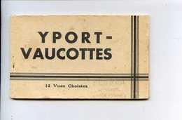 VAUCOTTES  YPORT   Carnet De 12 Cartes - France
