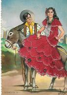 COSTUME Espagne Broderie Tbe - Costumi