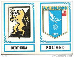 CALCIATORI PANINI 1982-83 N. 568 CON VELINA NEW DERTHONA FOLIGNO - Panini