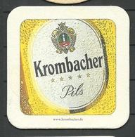 Bierdeckel Deutschland Krombacher Pils - Beer Mats