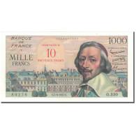 France, 10 Nouveaux Francs On 1000 Francs, 10 NF 1959-1963 ''Richelieu'' - 1959-1966 ''Nouveaux Francs''