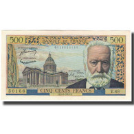 France, 500 Francs, 500 F 1954-1958 ''Victor Hugo'', 1954-09-02, SPL - 1871-1952 Circulated During XXth