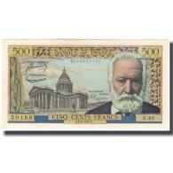 France, 500 Francs, 500 F 1954-1958 ''Victor Hugo'', 1954-09-02, SPL - 1871-1952 Anciens Francs Circulés Au XXème