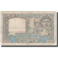 France, 20 Francs, 20 F 1939-1942 ''Science Et Travail'', 1939-12-07, TB - 1871-1952 Antichi Franchi Circolanti Nel XX Secolo