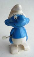 FIGURINE SCHTROUMPF - SMURF - PIFUTOS MARCHEUR WIND UP 1994 GALOOB (1) - Smurfs