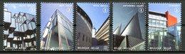 BE   4160 - 4164   XX   ---   Palais De Justice  --  Timbres Du Bloc BL191 - Belgique